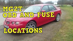 Mgzt Obd And Fuse Locations  Rover 75