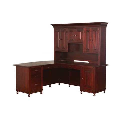 fda eric help desk master style corner desk amish crafted furniture