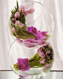 le vase boule petit objet avec de grandes idees With déco chambre bébé pas cher avec bouquet fleur de lys