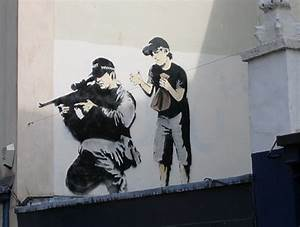 25 Coolest Banksy Graffiti - Holytaco