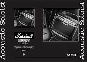 Marshall Acoustic Soloist As80r Users Manual Hbk  English