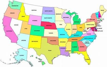 Capitals State Quiz States Map United America
