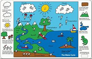 The Water Cycle For Kids  A Placemat