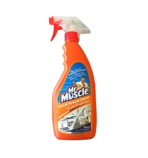 Mr Muscle 5 in1 All Purpose Cleaner Citrus Lime 500ml from