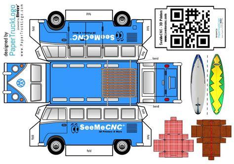 seemecnc vw papercraft truck    seemecnc community