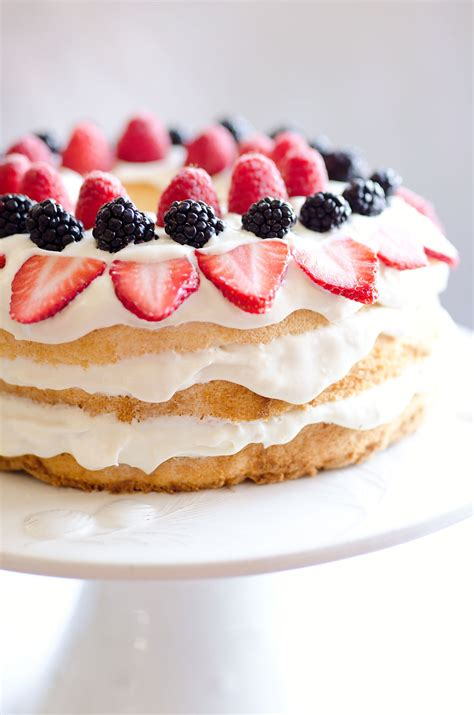 light berry food cake 15 minute dessert