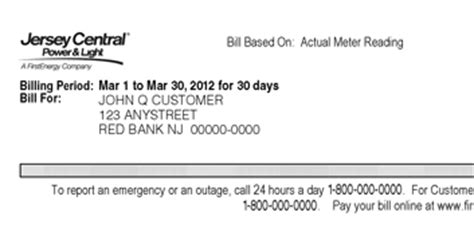 jersey central power and light bill pay local warning of phony jcp l billing scam brick