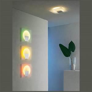 Philips Lampe Bunt : stimmungsvolle flache wand oder deckenlampe ~ Markanthonyermac.com Haus und Dekorationen