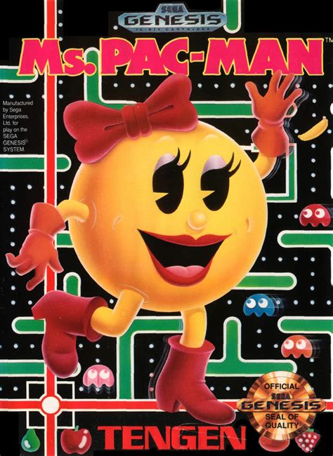 Ms Pac Man Characters Giant Bomb