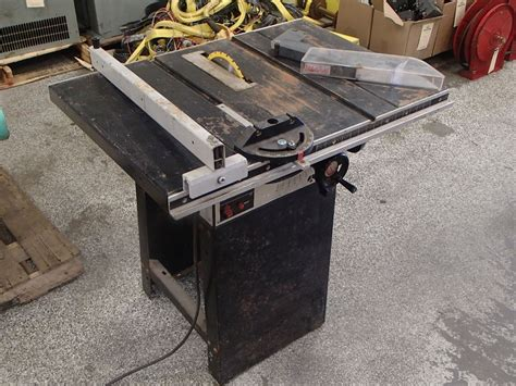 Rockwell Homecraft Table Saw Model 9 Btm Industrial