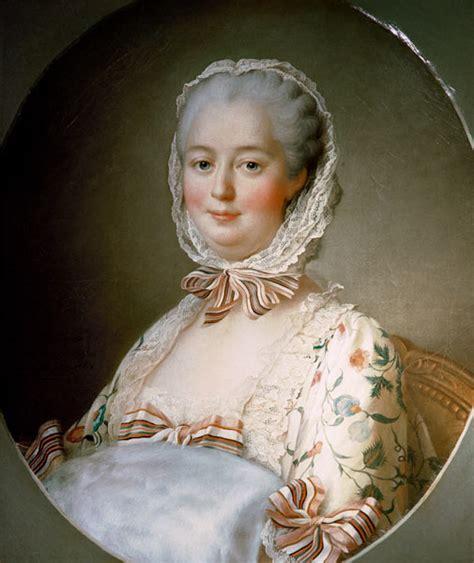 portrait of madame de pompadour with a f fran 231 ois hubert