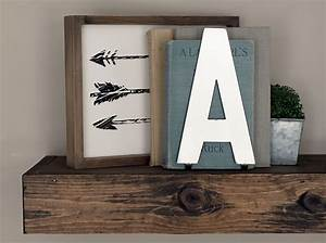 standing metal letters bookends shelf decor groopdealz With decorative metal letters for shelves