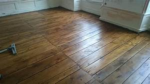 renovation plancher chene ancien angouleme charente 16 With cirer parquet ancien