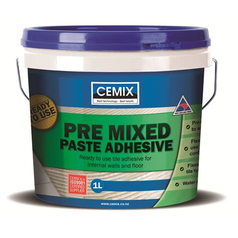 Tile Adhesive Remover Bunnings by Cemix Premixed Paste Tile Adhesive 1l Bunnings Warehouse