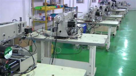 China Industrial Sewing Machine Manufacturer - YouTube