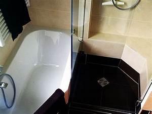 Wanne Und Dusche Kombiniert : kleines bad mit wanne und dusche ~ Indierocktalk.com Haus und Dekorationen