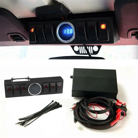 Jeep Switch Wiring by Switch For 2007 2014 Jeep Wrangler Jk Panel 6 Contura