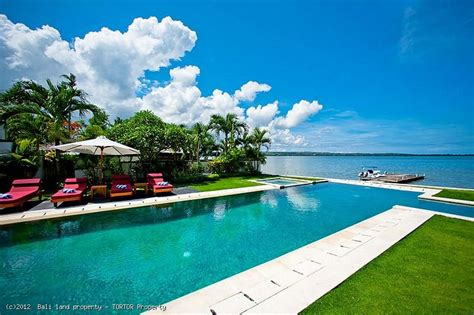 4 Bedroom Villa In Bali by Luxury Bali Waterfront Villa 3 Bedrooms Jetty Freehold
