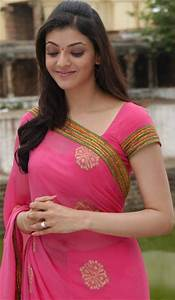 All HD Wallpapers (Actress): Kajal Agarwal in Saree from ...
