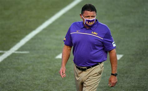 LSU Coach Ed Orgeron Stresses