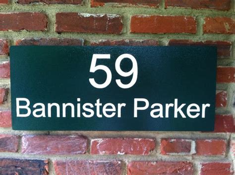 custom carved street address sign  carving company
