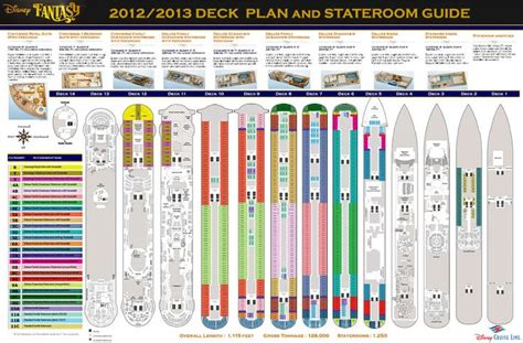 Disney Deck Plan 10 by Pin Carnival Magic Deck Plans Review Image Search Results
