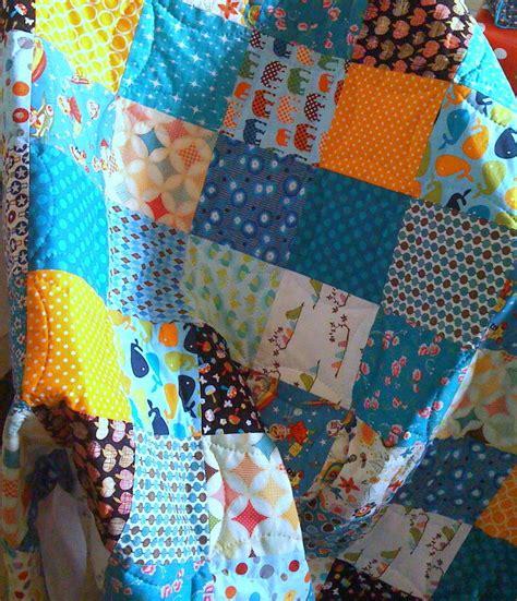 plaid pas cher pour canapé pour r 233 aliser un joli plaid patchwork le tuto la
