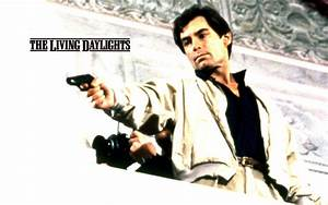 007 the living daylights wallpapers 007