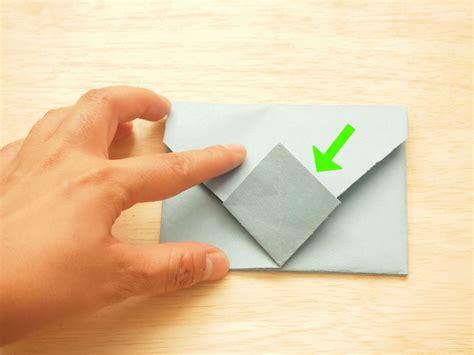Как сложить конверт из бумаги оригами