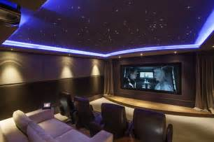 Home Theater Ceiling Design by Home Theater