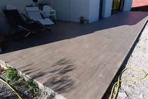 poser du carrelage sur terrasse carrelee With poser du carrelage terrasse