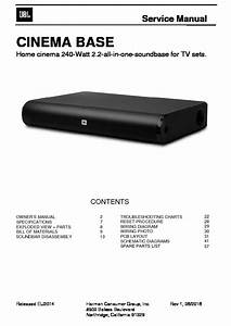 Jbl Cinema 510 Service Manual  U2014 View Online Or Download