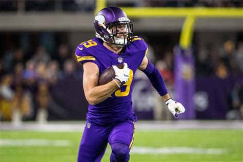 report vikings sign rfa wr adam thielen   year contract