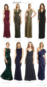 dresses to wear to a fall wedding what to wear to a formal black tie wedding
