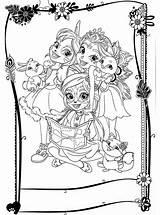 Enchantimals Coloring Colorear Kolorowanki Coloriage Ausmalbilder Disegni Colorare Dibujos Printable Fun Cartoon Ausmalen Kleurplaat Colouring Bello Imprimer Kinder Gratis Cartoni sketch template
