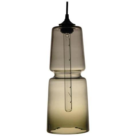 groove series cylinder pendant modern handmade glass