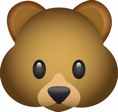 Emoji Bear Icon Osos Heart