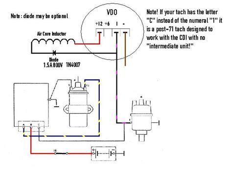 Vdo Tach Wiring Diagram by Tach Oh Woe Pre 74 Page 2 Pelican Parts Forums