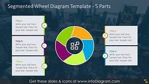 Set Of 30 Modern Shutter Graphic Circle Segment List