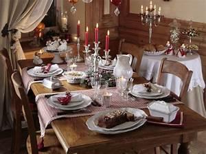 Table De Fete Decoration Noel : d co et ambiance de no l frenchimmo ~ Zukunftsfamilie.com Idées de Décoration