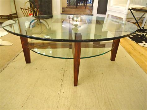 two tier glass coffee table two tier rosewood and oval glass coffee cocktail table at