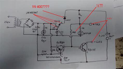 solucionado luz de emergencia gamasonic 90 led electr 243 nica en general yoreparo