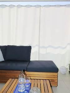 Blickdichte Vorhänge Kinderzimmer : outdoor vorhang santorini nach mass weiss ~ Frokenaadalensverden.com Haus und Dekorationen