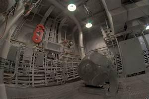 Uss North Carolina Engine Room  Hdr Fisheye