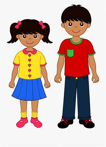 Brother Sister Clipart Child Older Cartoon Clip