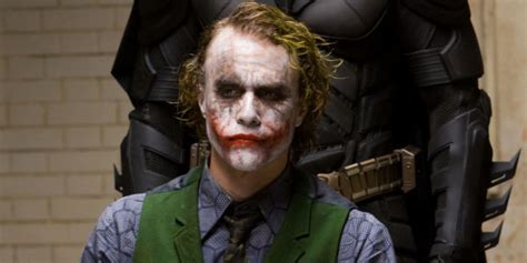 Christian Bale Thought Heath Ledger Dark Knight