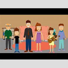 Family Song For Children  7 Family Member Names  Learn English Kids  Vidoemo Emotional