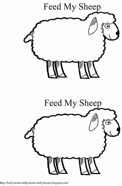 Sheep Feed Primary Lds Bible Lessons Sunday