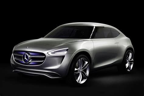 New Mercedes Gcode Concept For A Smaller Crossover Than