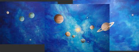chambre de bebe deco vène peintre déco fresques peinture murales